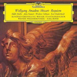 Requiem - Vinile LP di Wolfgang Amadeus Mozart,Karl Böhm,Wiener Philharmoniker,Edith Mathis,Julia Hamari