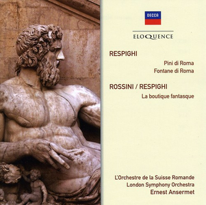 CD Respighi. Pines of Rome di Ottorino Respighi