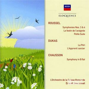 CD Roussel - Dukas - Chausson