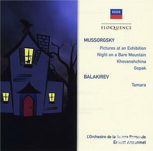 CD Mussorgsky. Night on A di Modest Petrovich Mussorgsky