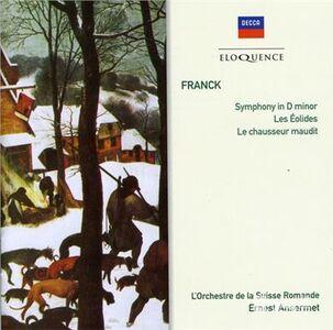 Foto Cover di Sinfonia in re, CD di César Franck,Ernest Ansermet, prodotto da Eloquence