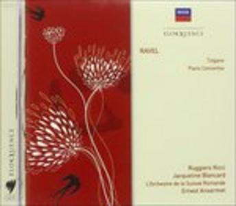 CD Ravel - Tzigane Piano di Maurice Ravel