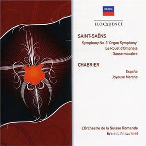 CD Saint Saens. Symphony di Camille Saint-Saëns