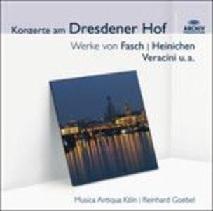 CD Concerti alla corte di Dresda
