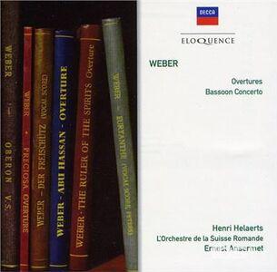 CD Weber. Overtures di Carl Maria Von Weber