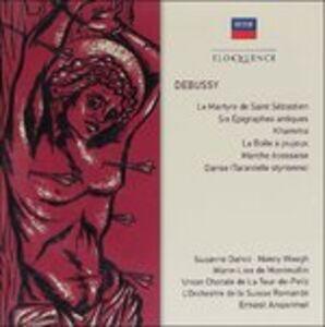 CD Debussy. La Martyre de di Claude Debussy
