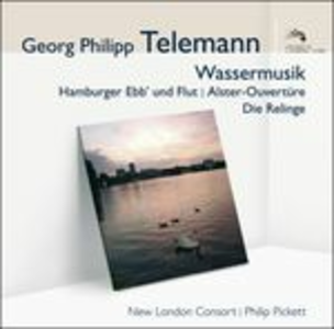 CD Wassermusik di Georg Philipp Telemann