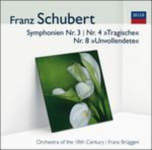 CD Sinfonie n.3, n.4 di Franz Schubert