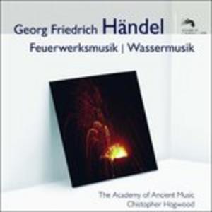 CD Musica per I Reali Fuochi D'artificio di Georg Friedrich Händel