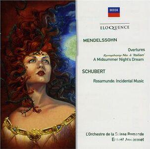 CD Mendelssohn. Orchestral di Felix Mendelssohn-Bartholdy
