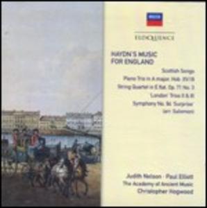 CD Haydn's Music for England di Franz Joseph Haydn