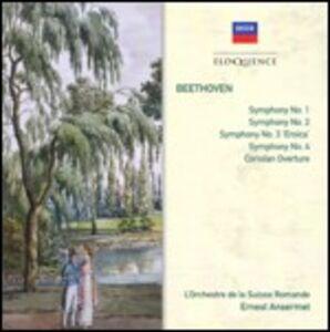 Foto Cover di Sinfonie n.1, n.2, n.3, n.4 - Ouverture Coriolano, CD di AA.VV prodotto da Eloquence Australia