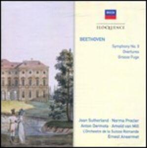 CD Sinfonia n.9 - Ouvertures - Grande fuga di Ludwig van Beethoven