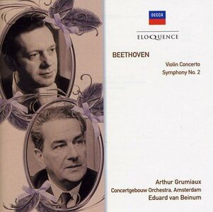 CD Violin di Ludwig van Beethoven
