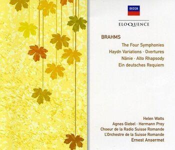 CD Brahms. Symphonies Nos di Johannes Brahms