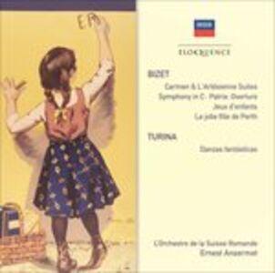 CD Suites-Symphony Turina-.. di Georges Bizet