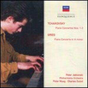CD Concerti per pianoforte Edvard Grieg , Pyotr Il'yich Tchaikovsky