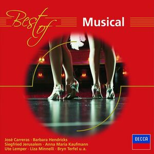 Foto Cover di Best of Musical, CD di  prodotto da Eloquence