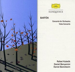 CD Bartok. Concerto For di Bela Bartok