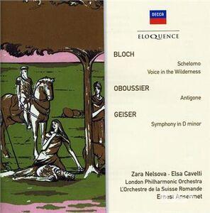 CD Bloch - Oboussier - Geiser