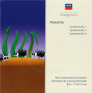 CD Prokofiev Symphonies di Sergei Sergeevic Prokofiev
