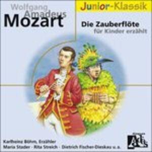 Foto Cover di Die Zauberflote fur Kinde, CD di Wolfgang Amadeus Mozart, prodotto da Deutsche Grammophon