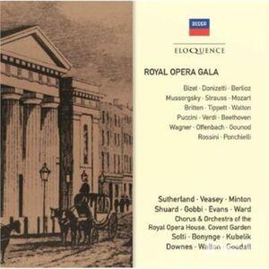 Foto Cover di Royal Opera Gala, CD di  prodotto da Eloquence