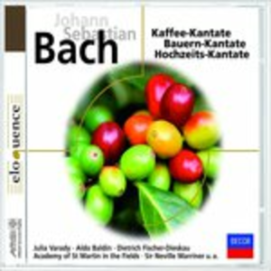 CD Kantates di Johann Sebastian Bach