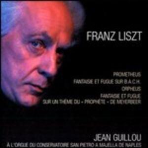 CD Prometeo - Fantasia e fuga sul nome di Bach - Fantasia e fuga su Ad nos ad salutarem di Franz Liszt