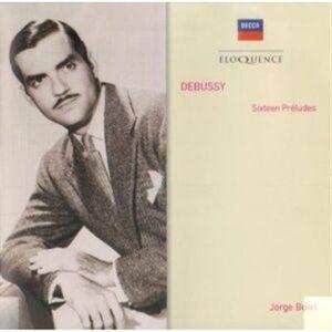 CD 16 Preludi di Claude Debussy
