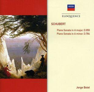 CD Schubert. Sonate per Pianoforte di Franz Schubert