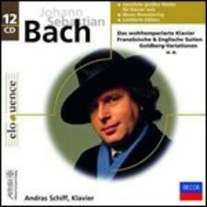 Foto Cover di L'opera per pianoforte solo, CD di Johann Sebastian Bach,Andras Schiff, prodotto da Decca
