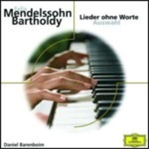 CD Lieder Ohne Worte di Felix Mendelssohn-Bartholdy