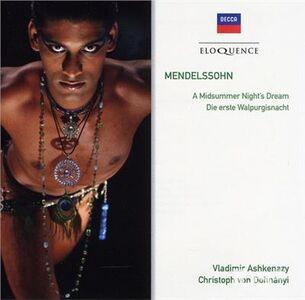 Foto Cover di Mendelssohn - A, CD di Felix Mendelssohn-Bartholdy,Vladimir Ashkenazy, prodotto da Eloquence