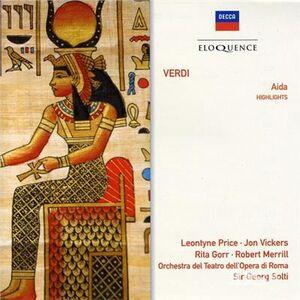 CD Verdi. Aida Great Scenes di Giuseppe Verdi