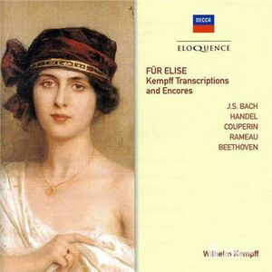 CD Fur Elise. Kempff di Ludwig van Beethoven