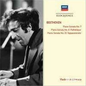 CD Sonate per Pianoforte op.10 No. 3 di Ludwig van Beethoven