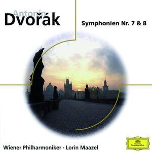 CD Sinfonie n.7, n.8 di Antonin Dvorak