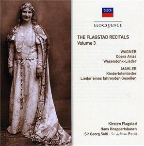 CD Flagstad Recitals vol.3