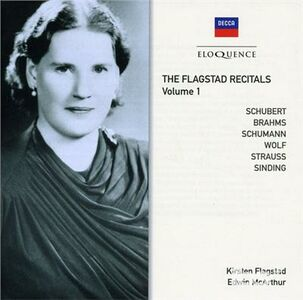 CD Flagstad Recitals vol.1