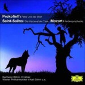 Foto Cover di Pierino e Il Lupo - Il Carnevale Degli Animali - Sinfonia Dei Giocattoli, CD di AA.VV prodotto da Deutsche Grammophon