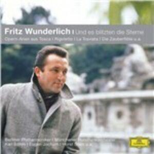 Foto Cover di Und Es Blitzten Die, CD di Fritz Wunderlich, prodotto da Dgg