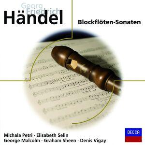 CD Blockflotensonaten di Georg Friedrich Händel