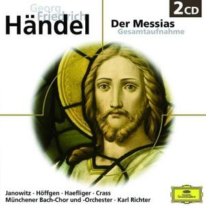 CD Der Messias di Georg Friedrich Händel