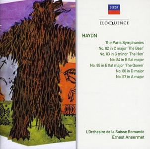 CD Sinfonie Parigine di Franz Joseph Haydn