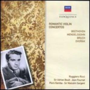 CD Romantic Violin Concertos