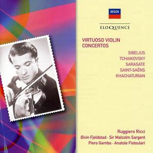 CD Virtuoso Concerti per Violino