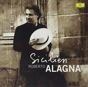 Foto Cover di Sicilien, CD di Roberto Alagna, prodotto da Dgg