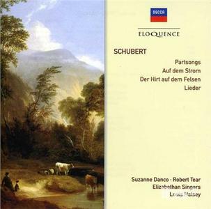 CD Partsongs; Auf Dem Strom; di Franz Schubert