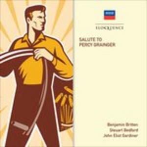 CD Salute to Percy Grainger di Benjamin Britten